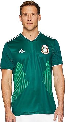 adidas 2018 Mexico Home Replica Jersey