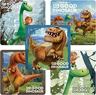 SmileMakers The Good Dinosaur Stickers - Prizes 100 Per Pack