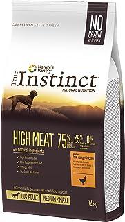 True Instinct High Meat Adult -Nature's Variety - Pienso para Perros Medium-Maxi Adulto con Pollo - 12 kg