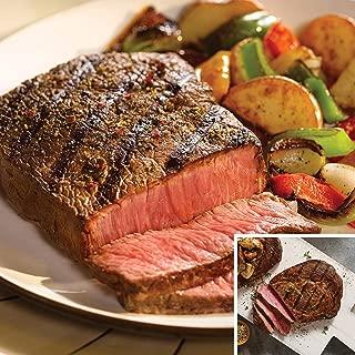 Omaha Steaks Top Sirloins and Ribeyes (4-Piece)