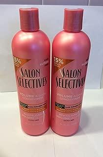 2pck - Salon Selectives Volume & Body Conditioner 16.1 fl. oz.