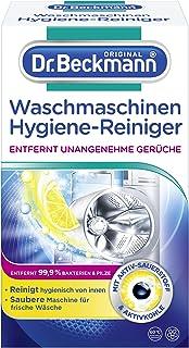 Dr. Beckmann Wasmachine hygiënische reiniger | machinereiniger met actieve kool (1 x 250 g)