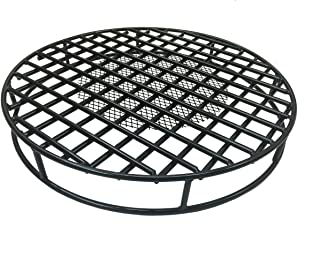 Walden Fire Pit Grate Round 29.5'' Diameter Premium Heavy Duty Steel Grate with Ember Catcher for Outdoor Fire Pits