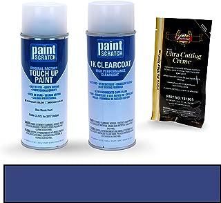 PAINTSCRATCH Blue Streak Pearl CL/KCL for 2017 Dodge Ram Series - Touch Up Paint Spray Can Kit - Original Factory OEM Automotive Paint - Color Match Guaranteed