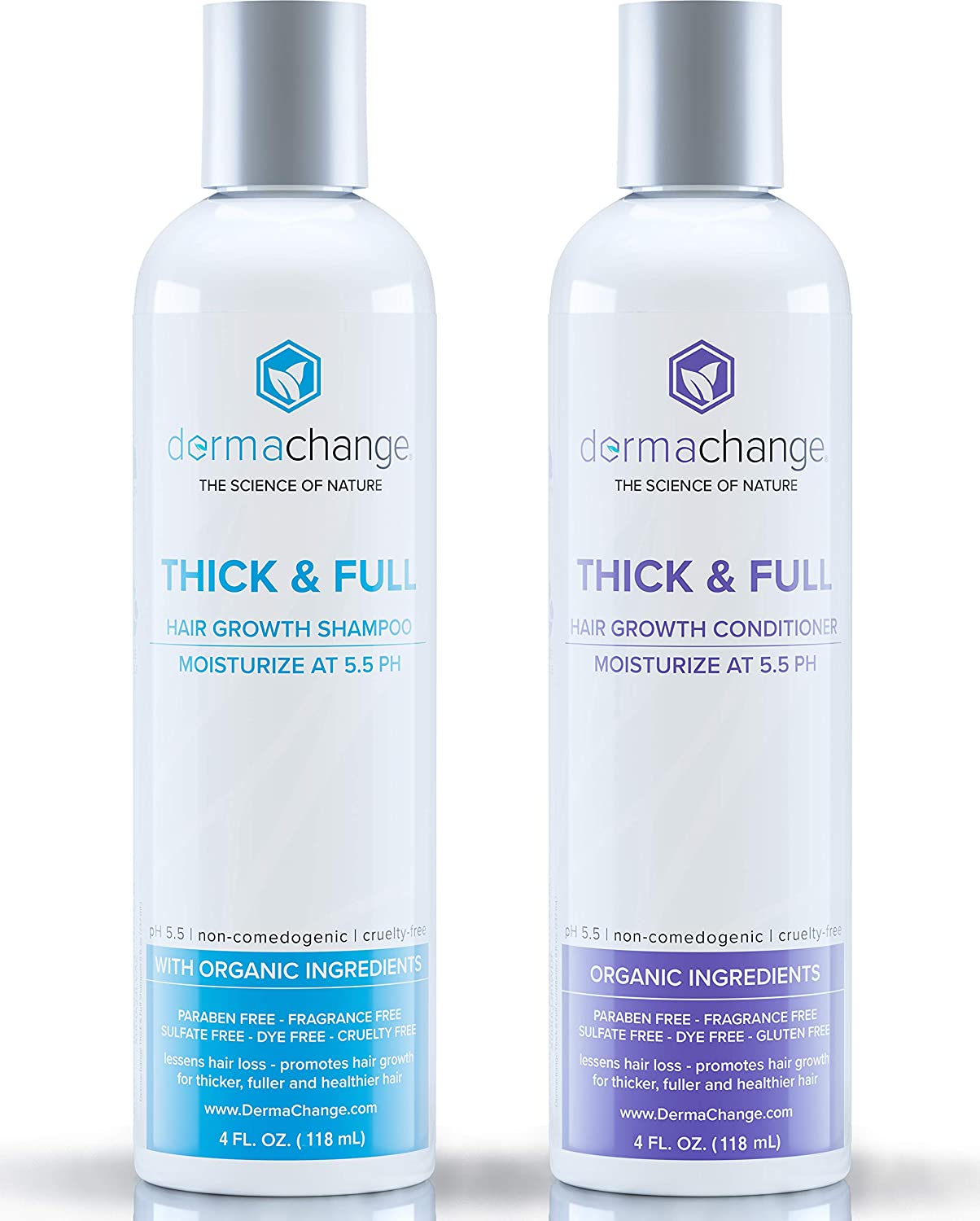 Hair Growth Shampoo and Conditioner Set Regular store Men For Vega - High order Woman