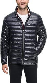 mens Water Resistant Ultra Loft Down Alternative Puffer Jacket