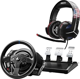 ThrustMaster T300RS GT Edition Racing Wheel & Y-300CPX FC5 Gaming Headset - PlayStation 4
