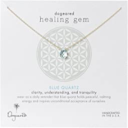 Dogeared - Healing Gem Blue Quartz Necklace