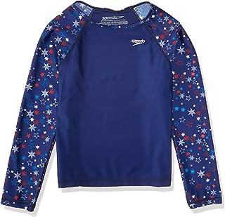 Speedo Fashion Long Sleeve Rashguard Shirt (7-16)