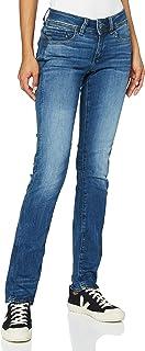 G-STAR RAW Midge Saddle Mid-Waist Straight' Jeans Femme