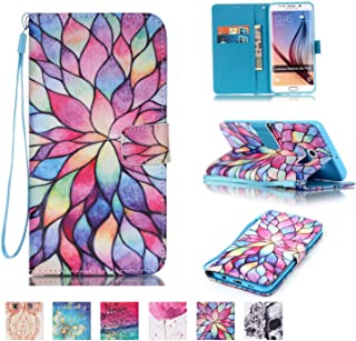 Galaxy S6 Edge Plus Case, Firefish [Kickstand] Flip Folio Wallet Cover Anti-Scratches Protective Shell with Cards Slots Magnetic Closure for Samsung Galaxy S6 Edge Plus