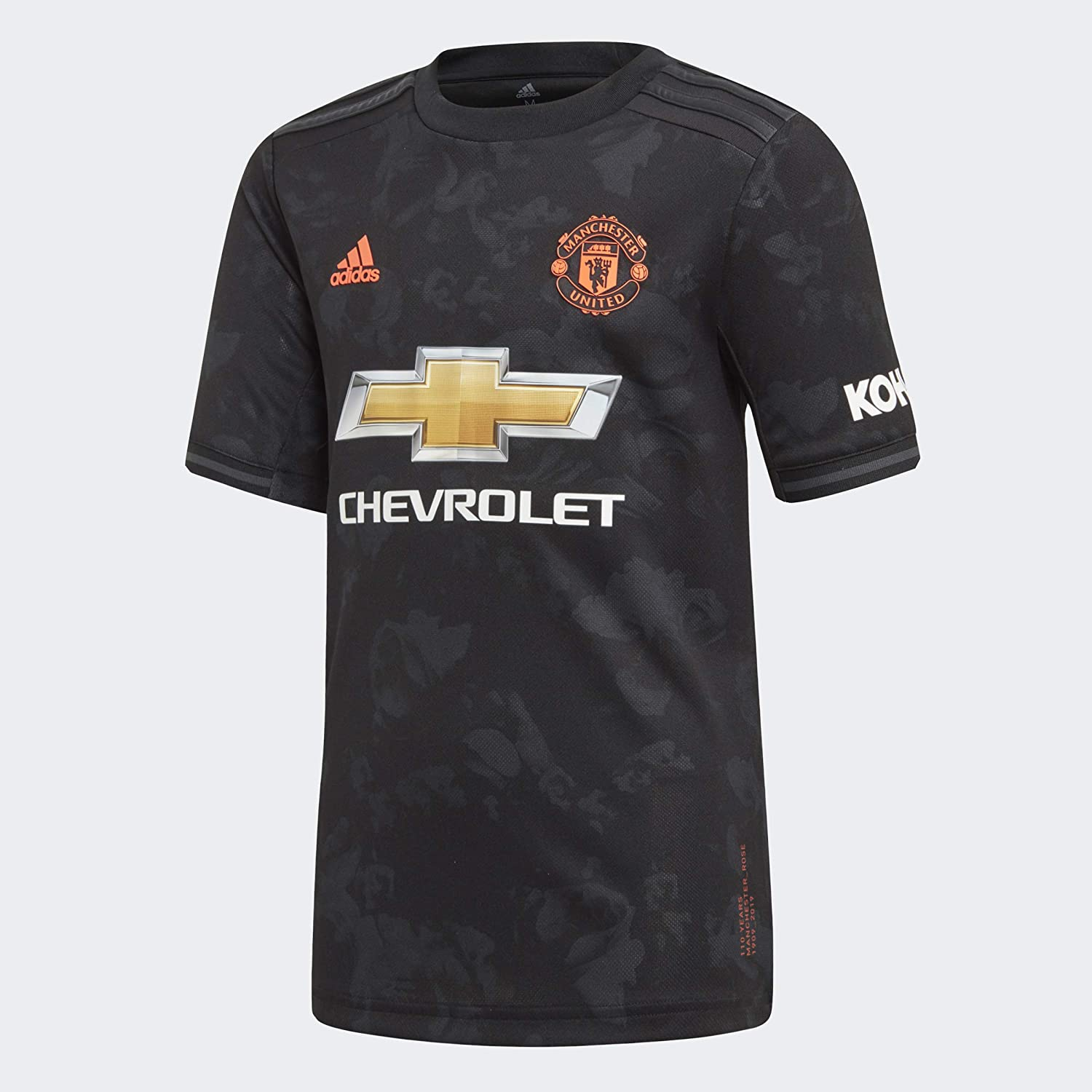 adidas Youth Soccer Manchester United Third Jersey