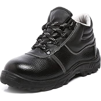 Agarson Steel Toe PVC Moulded Engineers/Labours Safety Shoes; INNOVA, Size_9