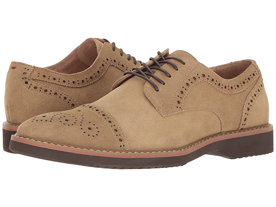 Florsheim Union Cap Toe Oxford (Dirty Buck Suede) Men