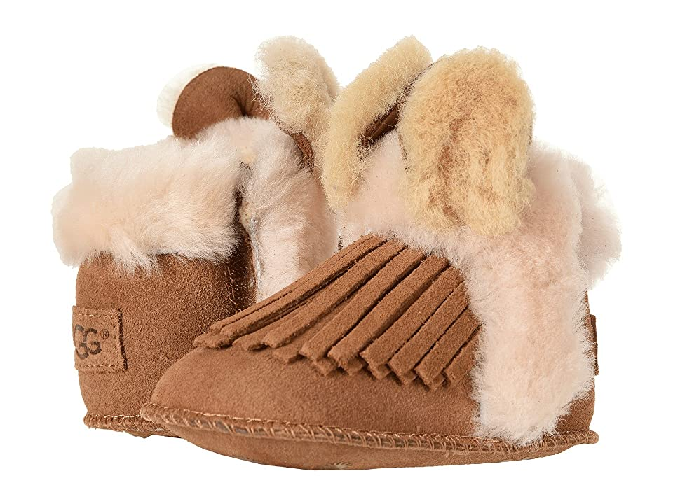 UGG Kids Darlala Erin (Infant/Toddler) (Chestnut) Girls Shoes