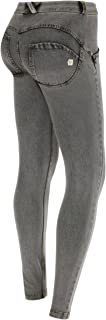 WR.UP X-Large Grey Skinny Booty Jeans and Jeggings, Mid Waist, Full Length