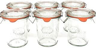 Weck 760 Mini Mold Jar, 5.4 Ounce - 6 Jars