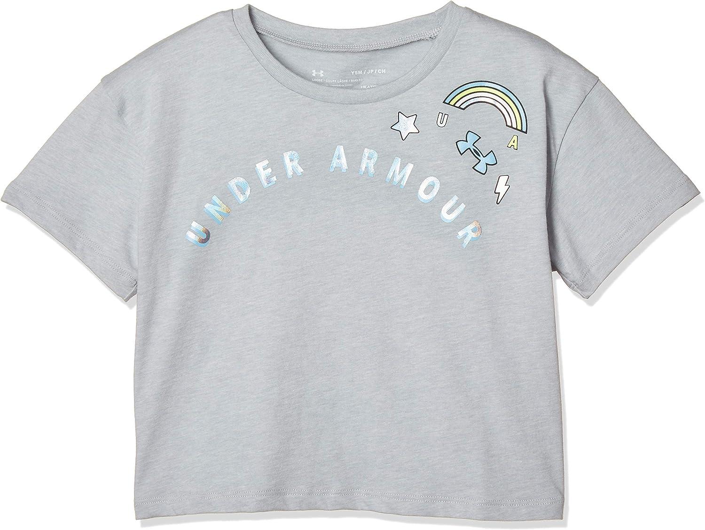 Under Armour Girls' Patch Short Sleeve
