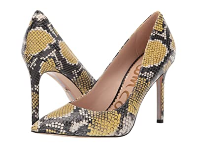 Sam Edelman Hazel (Tuscan Yellow Multi Exotic Snake Print Leather) Women
