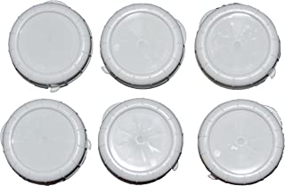 The Dairy Shoppe Replacement Glass Milk Bottle Caps, Fits 48 mm Libbey & Stan-Pac (Pack of 6)
