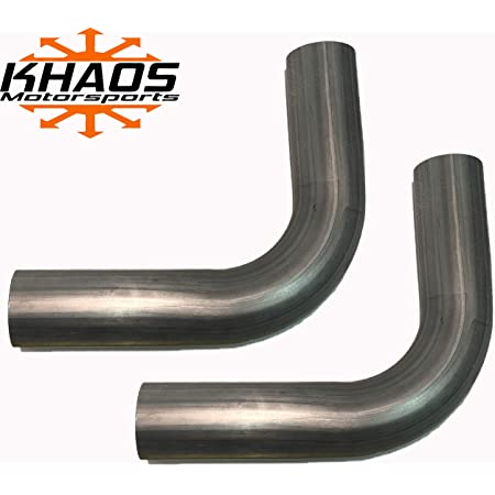 """Aluminized 90 Exhaust Elbow Pipe Degree ID-OD Exhaust Elbow Pipe 2.25/"""""""