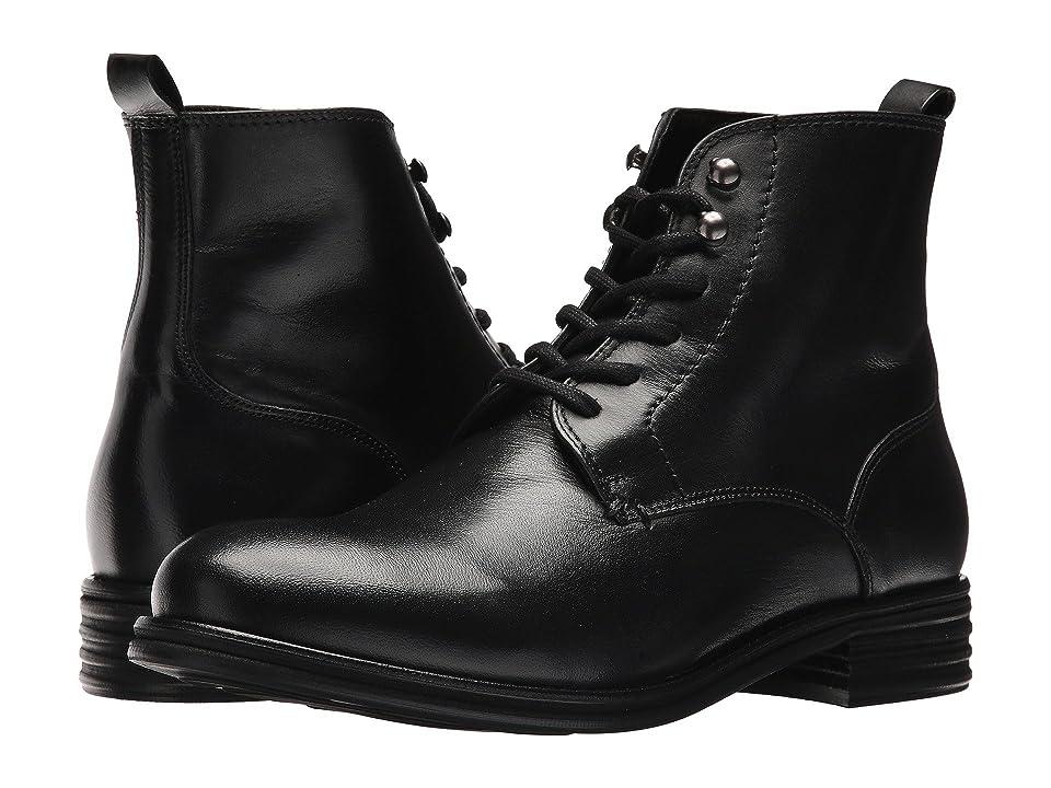 Vince Camuto Cordie (Black Leather) Men