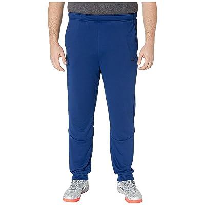 Nike Big Tall Dry Pants Taper Fleece (Blue Void/Black) Men