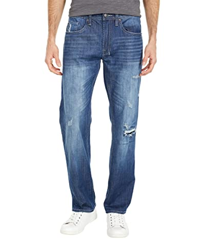 Buffalo David Bitton Driven X Relaxed Straight Jean in Sanded and Repaired (Sanded and Repaired) Men
