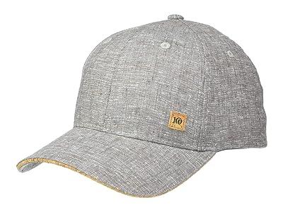 tentree Cork Icon Hemp Elevation Hat (Gargoyle Grey Heather) Caps