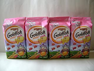 Pepperidge Farm Princess Cheddar Goldfish 6.6oz Bags (4 Pack)