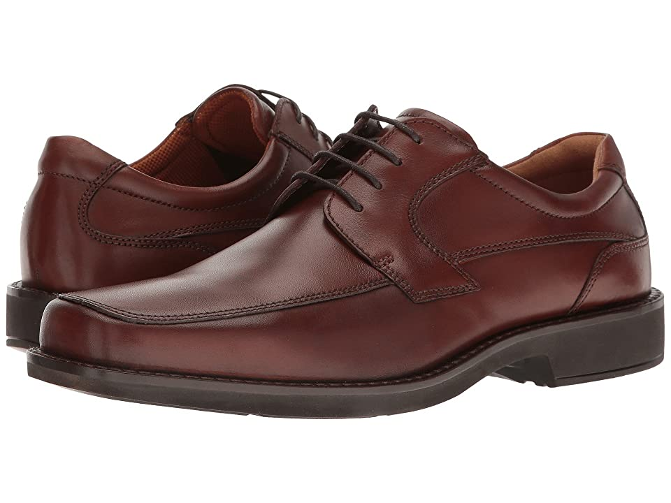 ECCO Seattle Tie (Cognac Cow Leather) Men