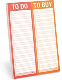 comprar comparacion Knock Knock Perforated Pad: To Do/To Buy