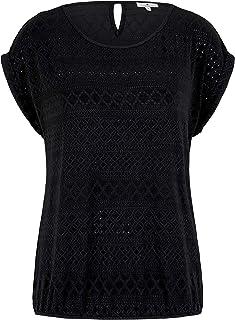 TOM TAILOR 1025784 Jaquard dames t-shirt