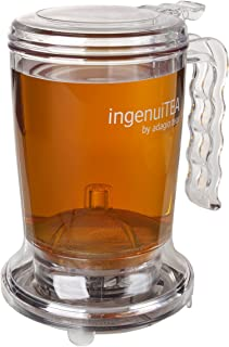 Adagio Teas ingenuiTEA Bottom-Dispensing Teapot,clear,16 oz