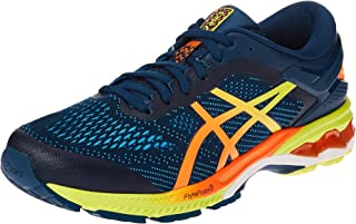 Asics Men's Gel-Kayano 26 Running Shoes, Blue (Mako Blue/Sour Yuzu ), 41.5 EU