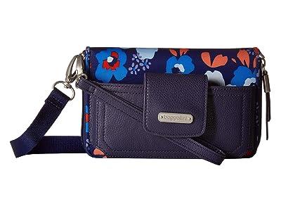 Baggallini New Classic RFID Phone Wallet Crossbody (Spring Bloom) Cross Body Handbags