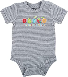 Eric Carle Baby Boys Overall Ls Onesie Set