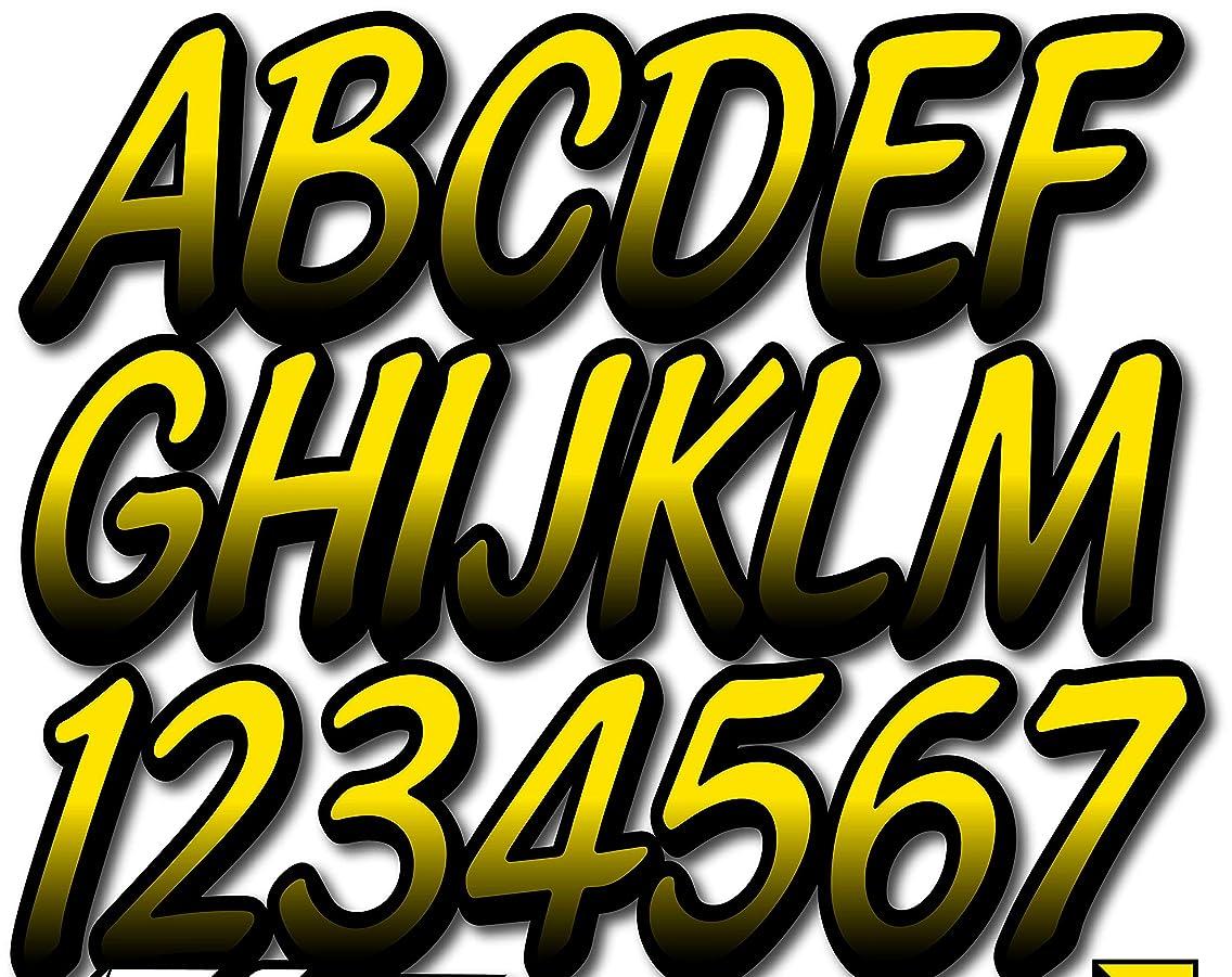Stiffie Whipline Pineapple Yellow/Black Super Sticky 3