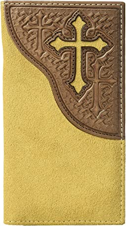 M&F Western - Embossed Tab with Cross Rodeo Wallet