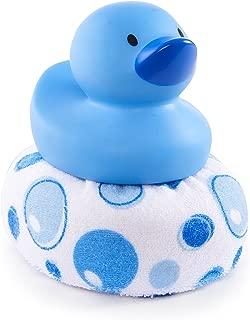Munchkin Duck Duck Clean Sponge Bath Toy, Blue