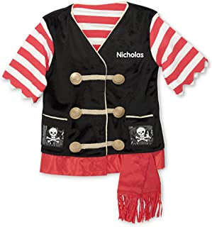 Melissa & Doug Personalized Pirate Role Play Set Costume