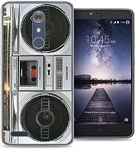 ZTE Blade X Max case - [Boombox] (Crystal Clear) PaletteShield Soft Flexible TPU gel skin phone cover (fit ZTE Blade X Max/ Max 3/ Max XL/ Zmax Pro)