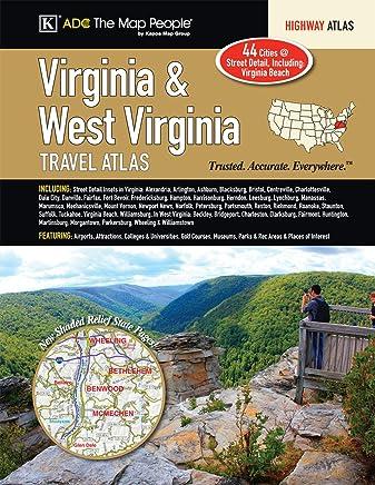 Virginia - West Virginia Travel Atlas
