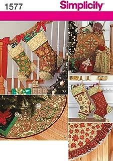 Simplicity Creative Patterns 1577 Holiday Decor