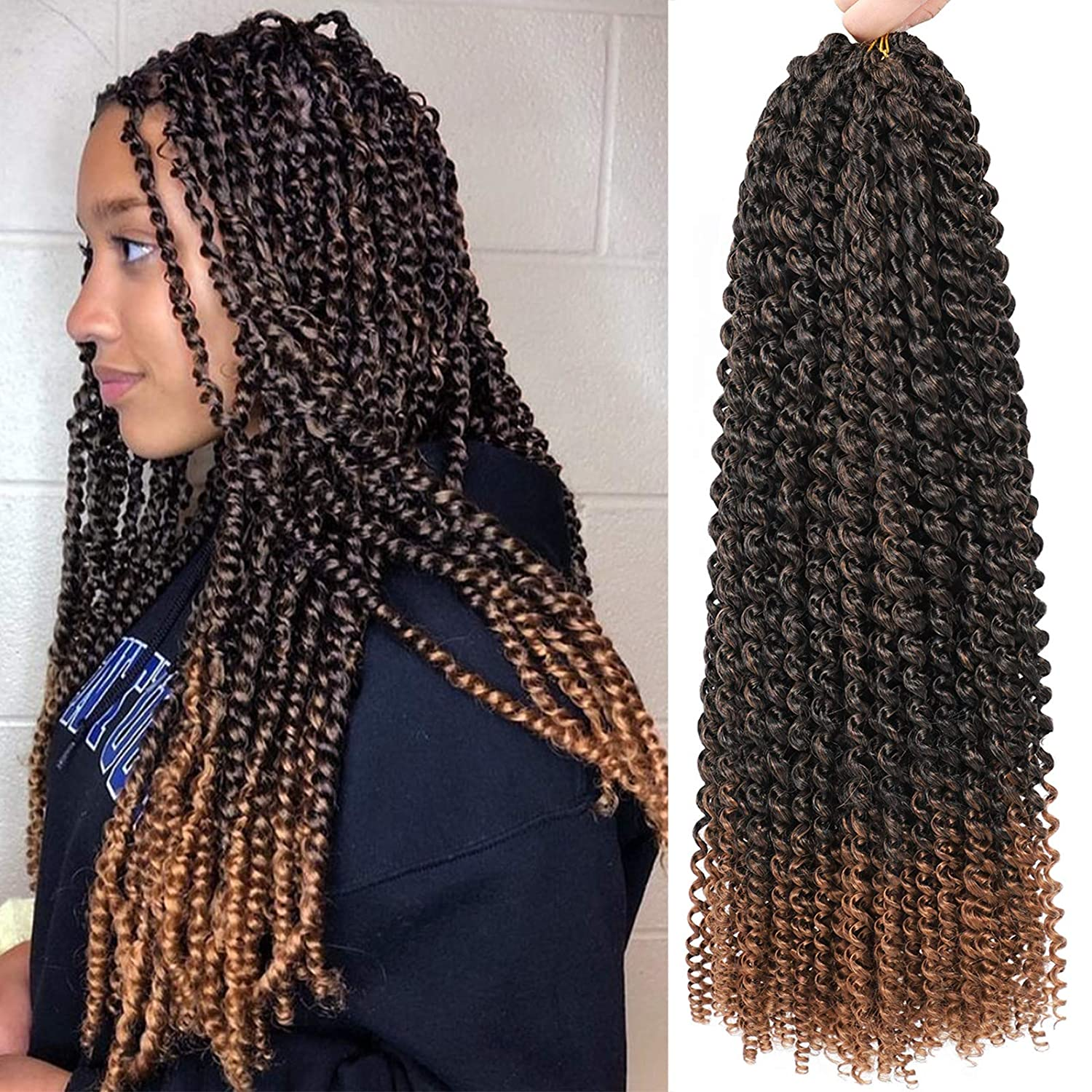 Water Wave Crochet Hair - 24 Twist Cur Passion Inch 8 store Surprise price Packs