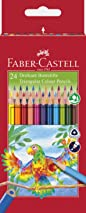 Faber-Castell Triangular Colour Pencils (Pack of 24)