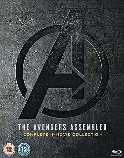 Avengers 1-4 - Juego de boxeo completo [Blu-ray] [2019] [Region Free]