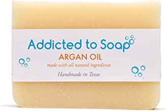 Addicted to Soap – Old Fashioned Natural Shampoo Bar 5 Ounces Eco-Friendly Solid Bar Shampoo for Men & Women Organic Cocon...