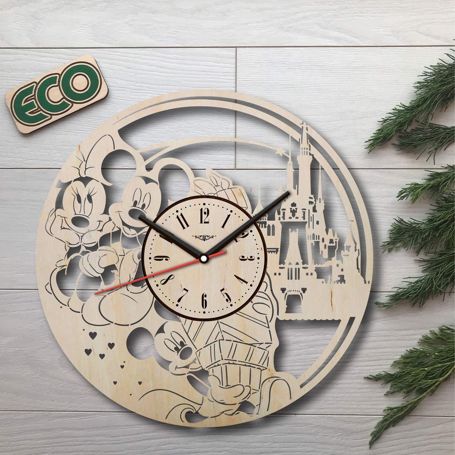 Mickey Mouse Super-cheap Wall Clock - Clocks Non store Ticking Operated Battery