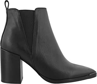 Tony Bianco Bello Womens Ankle Boots - with Covered Block Heel & Side Triangular Gussets